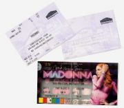 CONFESSIONS TOUR - SET OF 3 TICKETS , CARDIFF & LONDON 2006